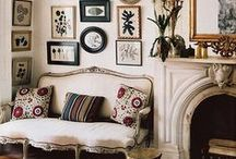Bohemian Vintage / Bohemian inspired and vintage bohemian designs, featuring the very popular ikat fabric. / by Organized Design Amy Smith