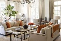 Decorating with Orange / by Organized Design Amy Smith