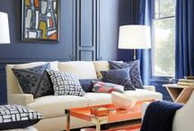 Decorating with Blue / by Organized Design Amy Smith