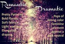Dramatic-Romantic Style Personality / Style personality 2: dominant Dramatic, undertones romantic. / by Heather Parish