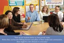 Stay Inspired / Stay Inspired with Heinemann Professional Development's authors!