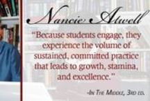 Nancie Atwell / Blogs and quotes from Nancie Atwell and the third edition of In The Middle. Nancie is also the first winner of The Global Teacher Prize