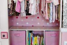Kids Closets & Clothing Storage