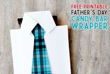 holiday crafts: Father's Day / All kinds of crafts and gift ideas for Father's Day! / by Lindsay Gilbert (ArtsyFartsyMama.com)