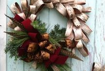 Christmas & Holiday Wreaths / Wreaths for all Seasons ~ Inspiration to create breathtaking elegance to welcome visitors to your home.