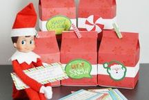 elf on the shelf shtuff / creative ideas for your Elf on the Shelf / by Lindsay Gilbert (ArtsyFartsyMama.com)