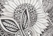 Zentangles, Doodles and More / by Jennie R