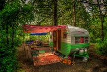 Glamping / I dream of buying a vintage airstream and glamping it out.