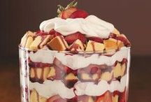 Trifles / All the inspo you'll ever need to create an amazing trifle. Make these vegan!