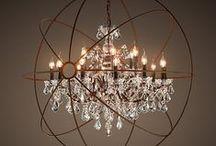 Lighting / Lighting ideas for home - light fixtures, chandeliers, DIY lights