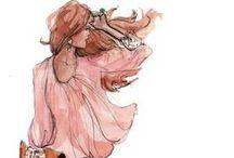 Fashion Illustration / by Kristina Reynolds-Haney