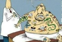 Tattoos and Body Piercings Caution / by A Brudner