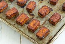 """Tofu, Tempeh and Seitan / Vegan """"meats"""" and delicious recipes I want to try"""