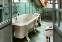 Attic Bathroom / by Andrea Figlewicz