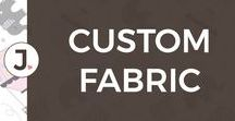 CUSTOM FABRIC + JENNIFER FRANKLIN DESIGNS / spoonflower custom fabric, custom fabric design, jennifer franklin designs, fabric by the yard, DIY, sewing, custom fabric design