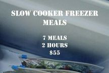 Freezer Meals / Freezer Meals most likely to be thrown into the crock pot