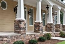 Porches / Enhancing the curb appeal of your home