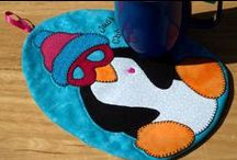 Mug Rugs / What's smaller than a placemat, larger than a coaster, and twice a cute?