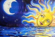 "My ""Solar Goddess"" artwork"