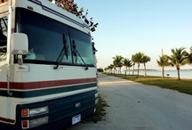 """Home Is Where You Park It / """"Not all those who wander are lost"""" ~ J.R.R. Tolkein We sold our home, moved our 4 cats and what was left of our possessions into our motorhome - 94 BMC Bluebird."""