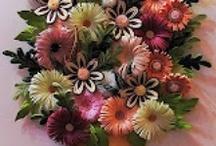 *Quilling flowers