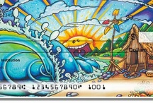 Drew Brophy: Licensed Artist Series / We use the psychedelic designs of Drew Brophy in our checks, address labels, and checkbook covers. If you like his work, pin it here! Be sure to check out his website at-drewbrophy.com. / by CheckAdvantage LLC
