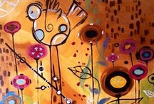 Natasha Wescoat: Licensed Artist Series / We use Natasha's fusion of Art Nouveau and post-Impressionism on our personal checks, checkbook covers, and other products.  If you love Wescoat's art, pin it here! And share with our followers.  Check out her website here- http://www.wescoatfineart.com/ / by CheckAdvantage LLC