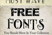 Fonts ♥ Printables / by Tam ♥