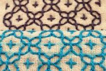 \\\ crafts   embroidery instructions \\\ / Embroidery patterns, stitches, tips, tutorials, how-to's etc. / by Audrey B.