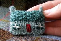 \\\ crafts   knitting inspiration \\\ / Knit projects I would like to try; interesting stitches or colours; some are just pretty knitting pictures :) / by Audrey B.