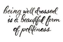 a beautiful form of *politeness* / by Nicole van Wyk