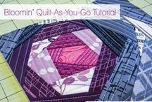 \\\ crafts   quilting \\\ / I'm not into the elaborate quilting patterns but I love simple patchwork quilts. Pinned here are instructions, tips and some patterns.  / by Audrey B.