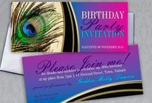 Invitations & Cards / Alternative Style & Designed customizable Cards : Invitations, Greeting Cards ~ for variety of events and occasions, designed by me » Webgrrl : Intuitive Digital Artist
