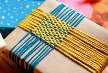 A Pretty Parcel / Homemade gift ideas. Pretty ways to decorate parcels. Etc. / by Nina S.