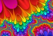 Fractals in Art & Nature / There's many styles of Fractal Arts - created digitally and naturally in nature. When i came across the first piece of fractal art - it was like i finally found a art style that i didn't know i had been looking for...