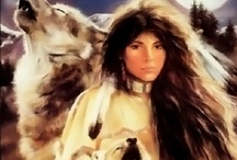 Art: Native American Indian Culture & Warriors
