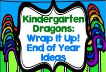 Wrap It Up - End of Year Ideas / The board that lets us celebrate a year's worth of hard work and lets my kinders know how much they helped ME to learn and grow!