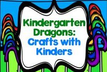 Crafts for Kinders / I have found that my kinders LOVE when I introduce a new craftivity and they get excited to use various art materials, so here is where I'm storing ideas to use with them all year long!!