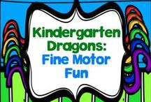 Fine Motor Fun for Kinders / The board where I put all of the ideas that will help my kinders build up their fine motor muscles while having FUN at the same time!