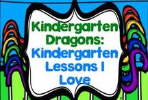 Lessons I Love - Kindergarten / There are so very many wonderful educators out there who share their hard work and creativity!  Here is where I'll store some great finds!