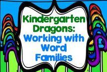 Working with Word Families in Kindergarten