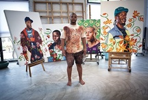 "Kehinde Wiley Artwork / by ""Kristoph"" Tech, Art & Design!"