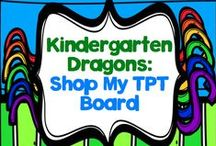 Shop My TPT Board / This board is where I'm showing off all of the various activities I've created!  I hope you stop by my TPT store, grab a few freebies, and become a follower!  Just click the red star and you'll stay up to date with everything I create!