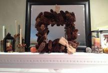 Fabulous and festive mantels
