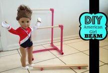 American Girl / DIY American Girl projects, ideas and tutorials #DIYAmericangirl #americangirl #americangirlideas #americangirlcrafts