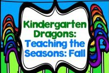 Teaching In the Seasons: Fall / This board is where I am pinning things related to the season of fall, as well as things I would teach my kinders about during the fall.