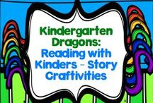 Reading with Kinders: Story Craftivities