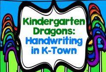 Handwriting in Kindergarten
