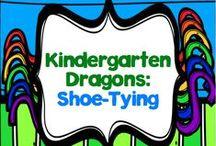 Shoe-Tying in Kindergarten