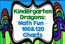 Math Fun: 100 & 120 Charts and Activities